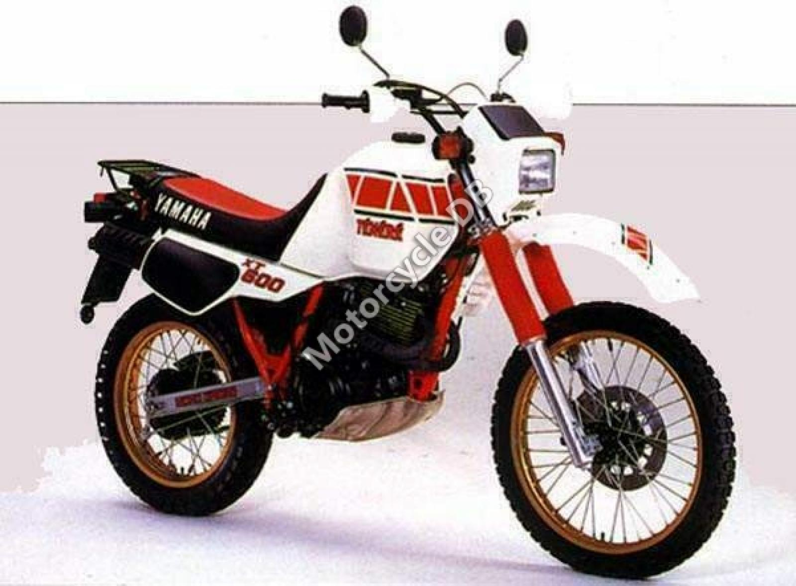 1987 yamaha xt 600 tenere moto zombdrive com. Black Bedroom Furniture Sets. Home Design Ideas