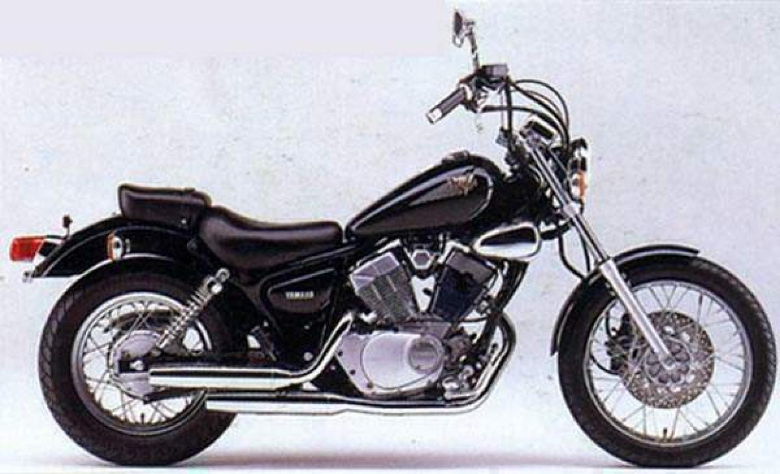 1996 yamaha xv 250 virago moto zombdrive com. Black Bedroom Furniture Sets. Home Design Ideas