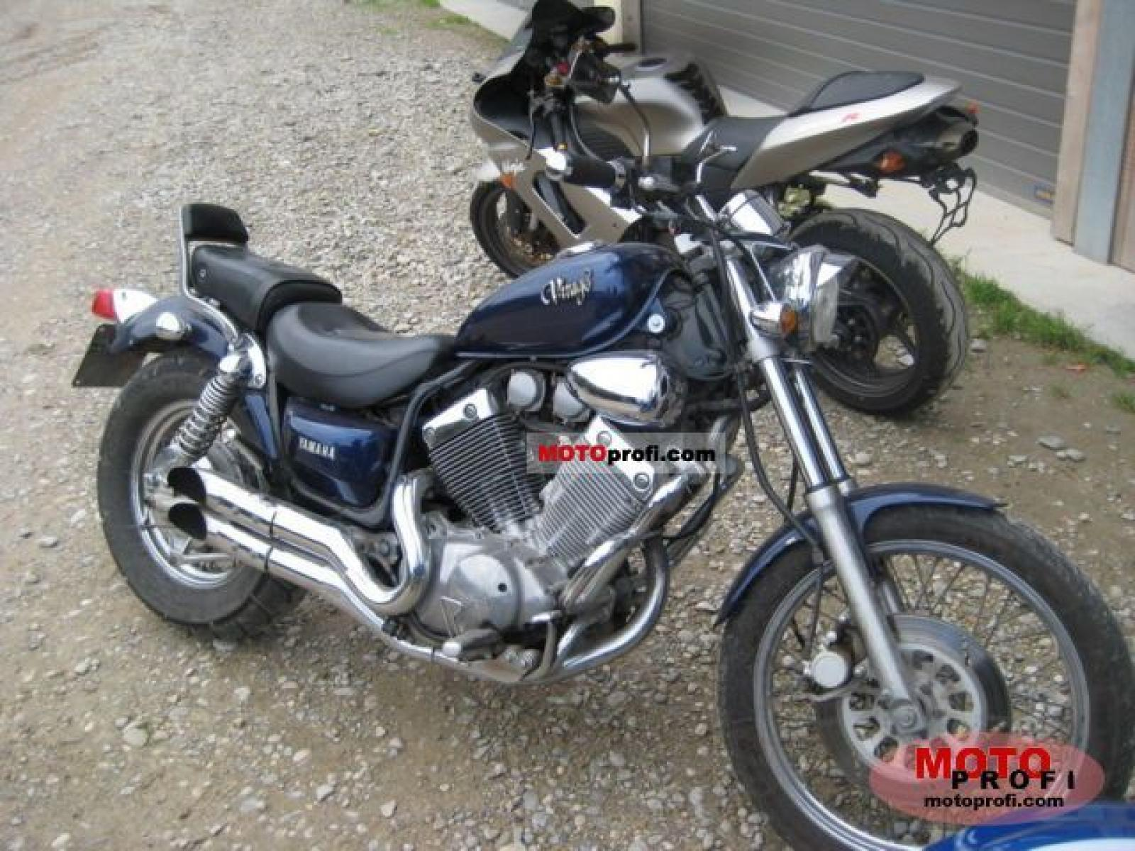 1998 yamaha xv 535 dx virago deluxe moto zombdrive com. Black Bedroom Furniture Sets. Home Design Ideas