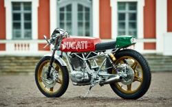 Retro Mototrans 350 Vento with original engine design #10