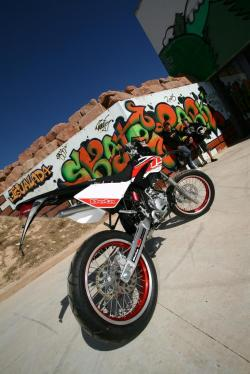 Beta RR 50 Motard Racing #4
