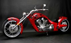 Big Bear Choppers Paradox 114 X-Wedge EFI 2010