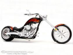 Big Bear Choppers Rage 100 Smooth EFI 2010