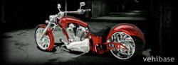 Big Bear Choppers Sled ProStreet 114 X-Wedge EFI 2010