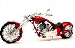 Big Bear Choppers Venom ProStreet 100 Smooth EFI 2010