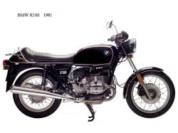 BMW R100RS 1981 #4