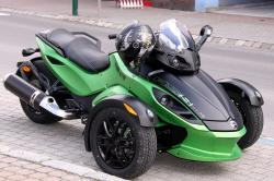 Can-Am Spyder Roadster SE5 2009 #10