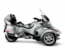 Can-Am Spyder Roadster SE5 2009 #15