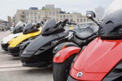 Can-Am Spyder Roadster SE5 2009 #4