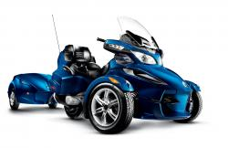 Can-Am Spyder RT Audio #2