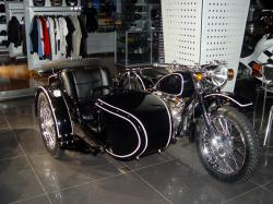 Chang-Jiang 750 BG (with sidecar)