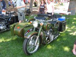 Chang-Jiang 750 FY (with sidecar)