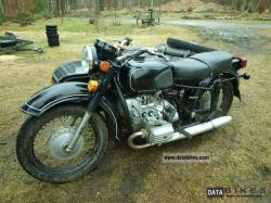 Dnepr MT 11 (with sidecar) 1989