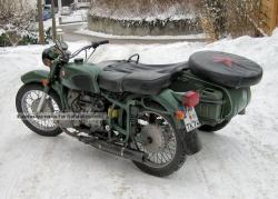 1987 Dnepr MT 16 (with sidecar)