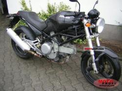 Ducati Monster 620 i.e. Dark Single Disc 2004