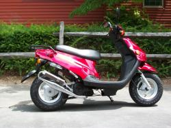 E-Ton Beamer 50, a scooter from the early 2000s #7