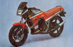 1987 Fantic 125 Sport HP 1 (reduced effect)