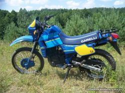 A vintage Garelli XR 125 Tiger off-roader