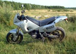 Gilera RC 600 C (reduced effect) 1992 #8