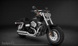 Harley-Davidson Dyna Fat Bob Dark Custom 2013