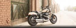 Harley-Davidson Dyna Fat Bob Dark Custom 2014