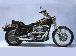 Harley-Davidson FLSTC 1340 Heritage Softail Classic (reduced effect) 1988