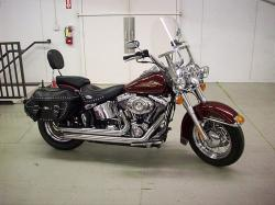 Harley-Davidson FLSTC Heritage Softail Classic Firefighter 2008