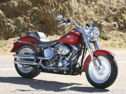 Harley-Davidson FLSTF Softail Fat Boy 2010