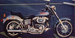 Harley-Davidson FXRS 1340 SP Low Rider Special Edition 1989