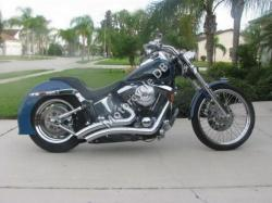 Harley-Davidson FXST 1340 Softail (reduced effect) 1988 #2