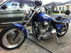 Harley-Davidson FXST 1340 Softail (reduced effect) 1988 #5