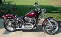 Harley-Davidson FXST 1340 Softail (reduced effect) 1988 #9