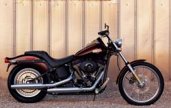 Harley-Davidson FXSTB Softail Night Train 2007 #8
