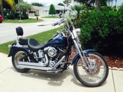 Harley-Davidson FXSTS Springer Softail 2002 #13