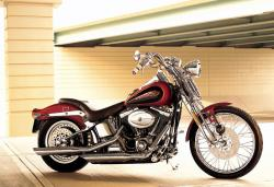 Harley-Davidson FXSTS Springer Softail 2002 #2