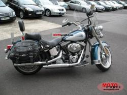 Harley-Davidson Heritage Softail Classic Injection 2001 #4