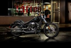 Harley-Davidson Softail Blackline Dark Custom 2013