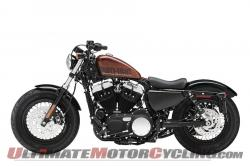 Harley-Davidson Sportster Forty-Eight Dark Custom 2014