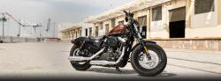 Harley-Davidson Sportster Forty-Eight Dark Custom 2014 #2