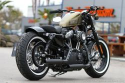 Harley-Davidson Sportster Forty-Eight Dark Custom 2014 #5