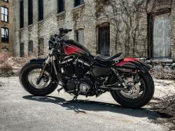 Harley-Davidson Sportster Forty-Eight Dark Custom 2014 #6