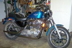 Harley-Davidson XLH Sportster 1200 (reduced effect) 1989 #9