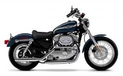 1990 Harley-Davidson XLH Sportster 1200 (reduced effect)