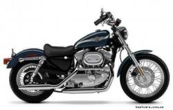 Harley-Davidson XLH Sportster 883 De Luxe (reduced effect) 1991