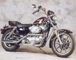 Harley-Davidson XLH Sportster 883 Evolution (reduced effect) 1986 #2