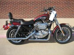 Harley-Davidson XLH Sportster 883 Evolution (reduced effect) 1987