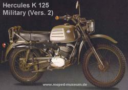 Hercules K 125 Military Sparking the Performance #11