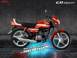 Hero Honda CD Deluxe 2010 #6
