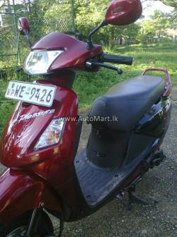 Hero Honda Pleasure 100 2011 #3