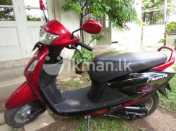 Hero Honda Pleasure 100 2011 #6